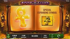 Book of Egypt Bonusspiel - Low Roller - 84x Einsatz gewonnen