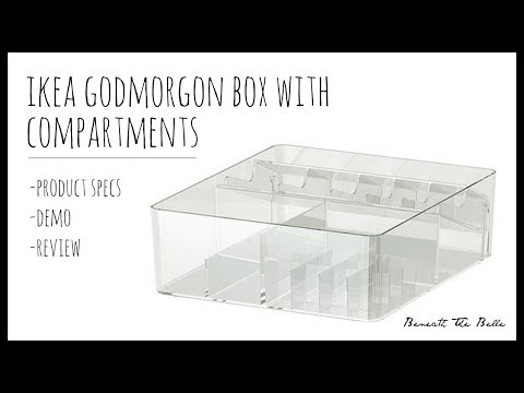 IKEA Godmorgon Box With Compartments | Review