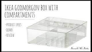 IKEA Godmorgon Box With Compartments | Review Thumbnail