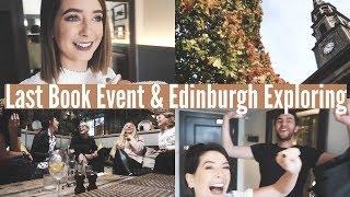 LAST BOOK EVENT & EDINBURGH EXPLORING | WEEKLY VLOG thumbnail