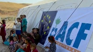 EU aid in Iraq: medical care for people fleeing Mosul