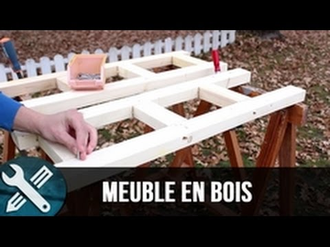 bricolage vlogs fabrication d 39 un meuble en bois youtube. Black Bedroom Furniture Sets. Home Design Ideas