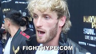 "LOGAN PAUL IMMEDIATE REACTION TO BRAWL WITH MAYWEATHER & JAKE PAUL: ""I TOLD HIM NOT TO DO IT"""