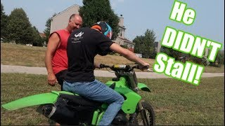 Learning Clutch on a Dirt Bike in 5 Minutes!