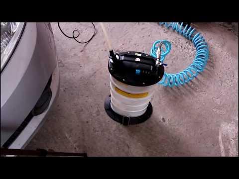 Замена тормозной жидкости на Chevrolet Aveo Шевроле Авео 2009 года