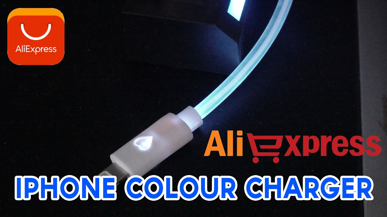 quality design 3af11 f1287 Aliexpress iphone Colour changing Charger REVIEW w/Links
