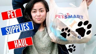 Pet Supplies Haul!