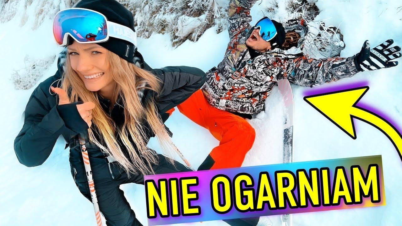 jazda na nartach w 1 dzień.