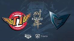 SKT vs. SSG - Worlds 2017: FINALE [GER]