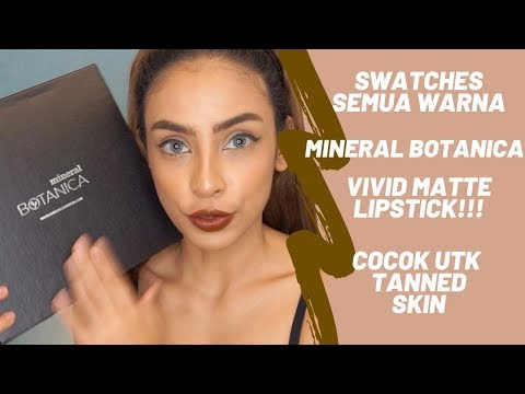 swatches-seluruh-shades-lipstick-terbaru-minera-botanica-vivid-matte!