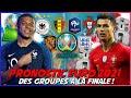 PRONOSTIC EURO 2021 DES GROUPES A LA FINALE ! UEFA EURO 2020  PREDICTION (GROUP STAGE TO FINAL)