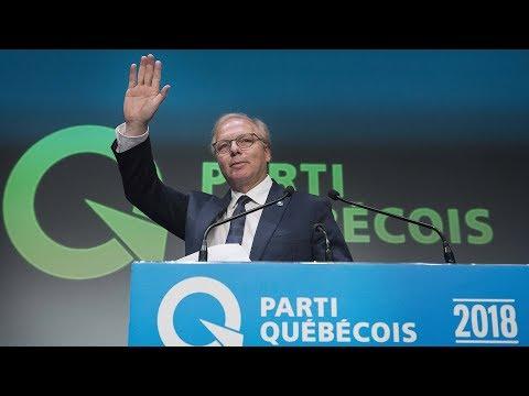 Discours du chef du PQ, Jean-François Lisée