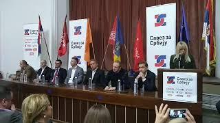 SAVEZ ZA SRBIJU: O Andreju Vučiću, Vojvodini, fašistima i rasprodaji zemlje