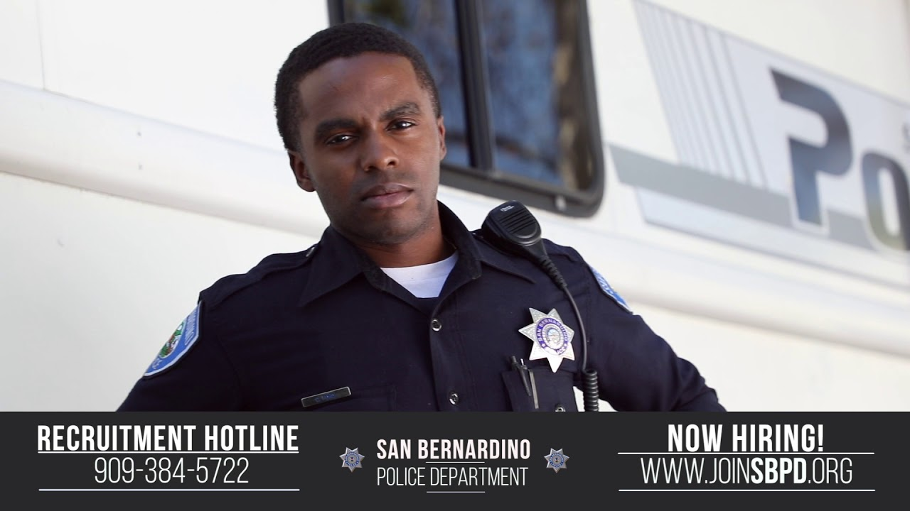 Looking to transfer? The San Bernardino Police Dept is hiring lateral  recruits!