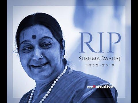 Veteran BJP leader Sushma Swaraj passes away at 67