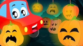 Jack 'O' Lantern | Little Red Car | Halloween Songs And Rhymes For Kids