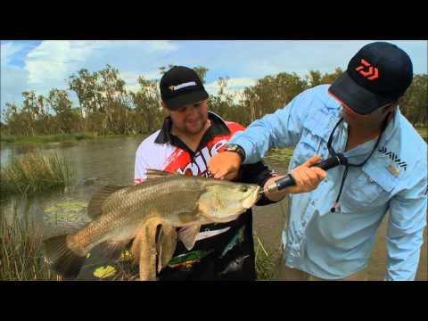 Mark Berg's Fishing Addiction: Big Barramundi!