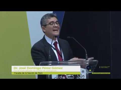 Exposición del Fiscal José Domingo Pérez - Encuentro Nacional Anticorrupción Chihuahua 2018