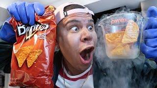 Liquid Nitrogen VS. Potato Chips! *YOU WON