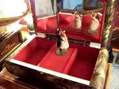 Dancing Couple Vintage Music Box YouTube