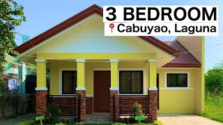 3br House And Lot In Laguna | Tierra El Sol Bungalow House Model