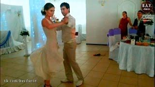 Лучший свадебный танец! Страстное танго!
