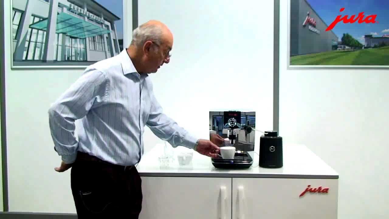 jura impressa j9 one touch product demonstration
