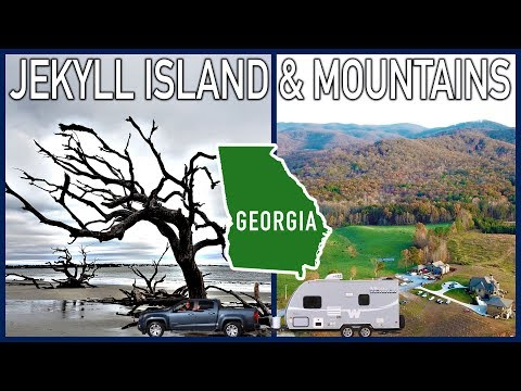 Georgia Road Trip: From Jekyll Island to the North Georgia Mountains