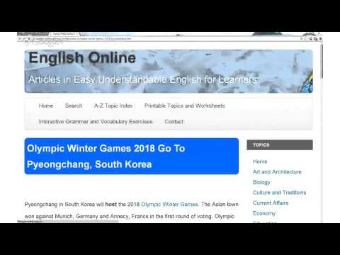 Sports & Hobbies (Olympic Winter Games 2018 Go To Pyeongchang, South Korea)