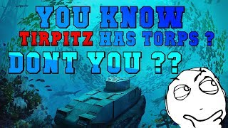 Tirpitz vs 2 Alabamas || World of Warships