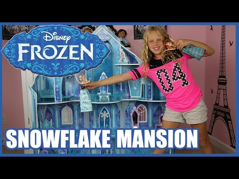 DISNEY FROZEN SNOWFLAKE MANSION Princess Ice Castle