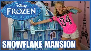 DISNEY FROZEN SNOWFLAKE MANSION Princess Ice Castle
