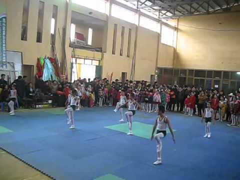 Bài thi aerobic tiểu học Phổ Yên Thái Nguyên.tn