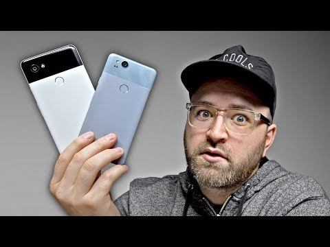 Thumbnail: Google Pixel 2 and Pixel 2 XL Hands On!