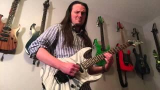 Mastodon Blood and Thunder guitar cover Dimarzio Titan