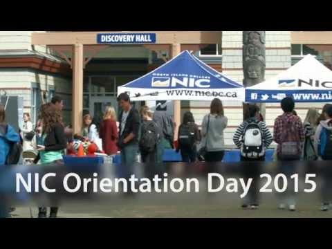 NIC Orientation Day 2015
