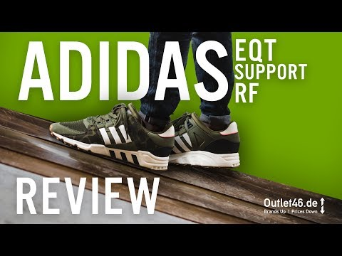 🦎 ADIDAS EQT SUPPORT RF Camouflage 🦎 DEUTSCH l Review l On Feet l Haul l Overview l Outlet46