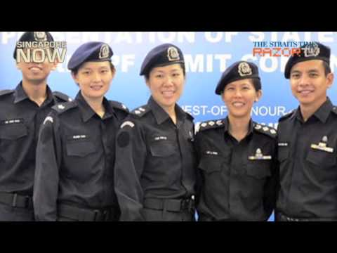 Singapore's top female cop