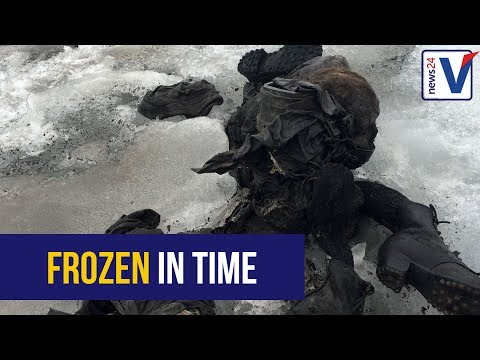 Missing couple found 75 years later - thanks to melting glacier