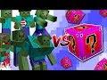 Minecraft ZOMBIE APOCALYPSE MOD VS LUCKY BLOCKS MOD / FIGHT OFF HOARDS OF ZOMBIES!! Minecraft