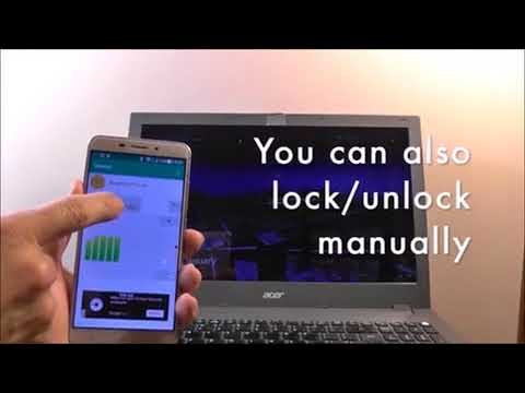 Lock and Unlock Windows from Android