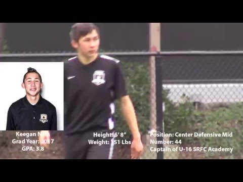 Keegan Ness- Sacramento Republic U-16 DA Highlights
