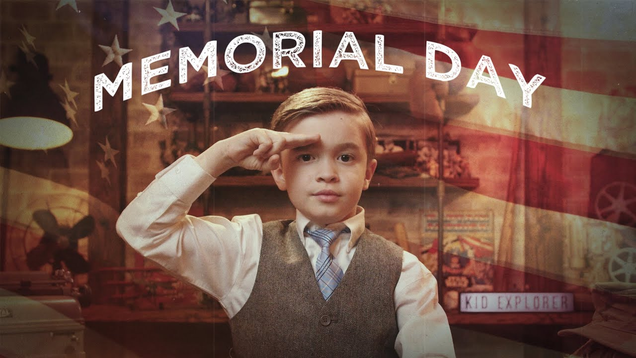 Memorial Day What Is It Why Do We Honor It Kid History Youtube
