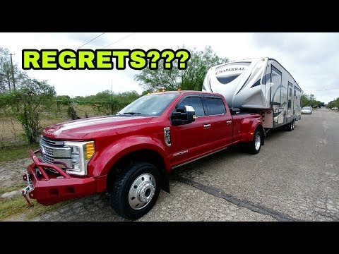 Regret Our Purchase????  F450 And Coachmen RV. Part 1: RV