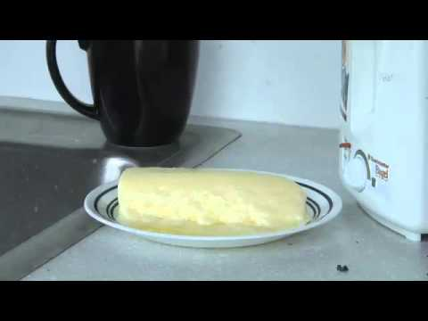 This Stick Of Butter Is Left Out At Room Temperature; You Won't Believe What Happens Next