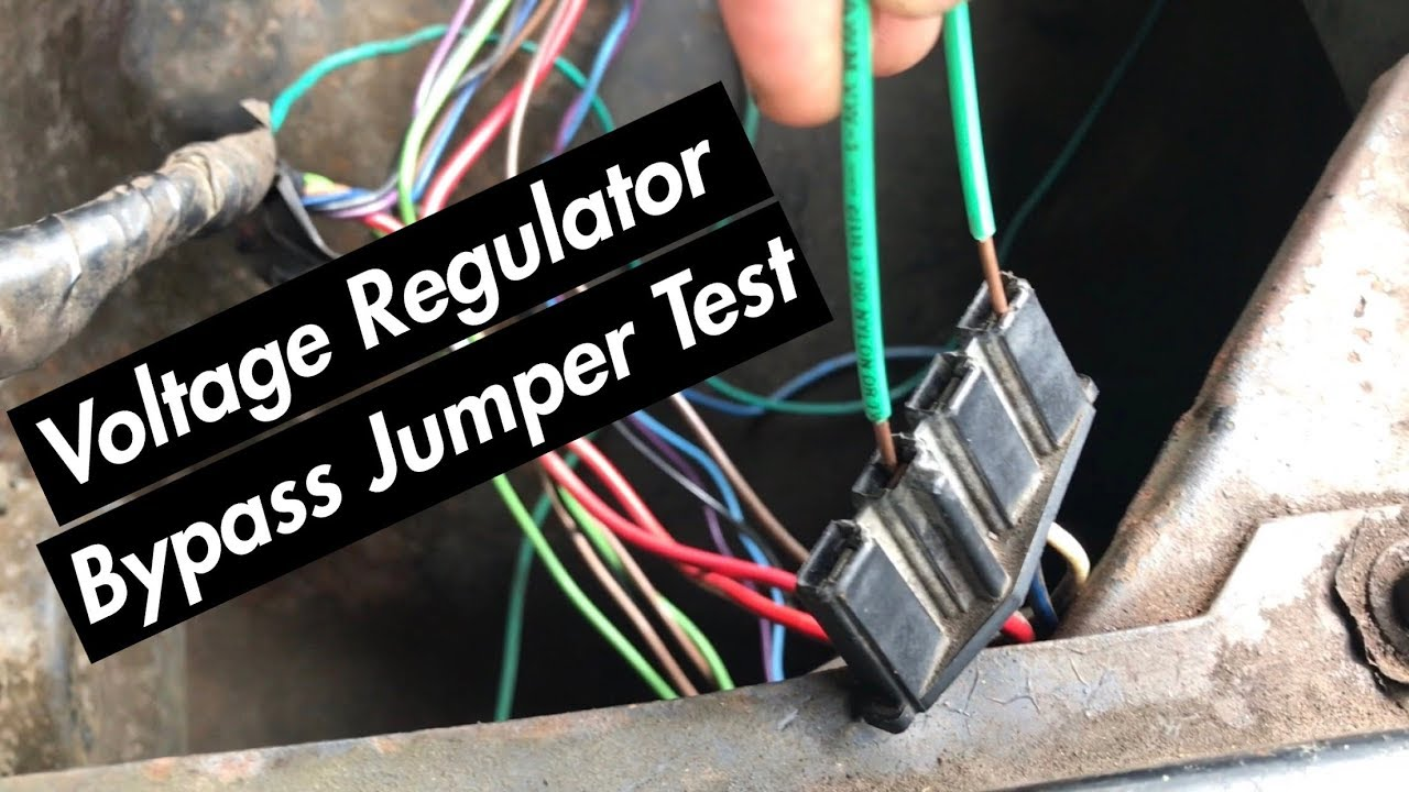 How To Test An External Voltage Regulator (Pre73 C10)  YouTube