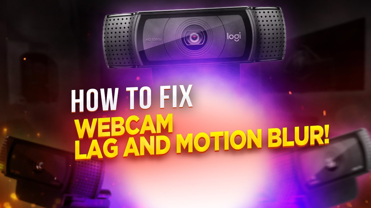 How To Fix Webcam Lag/ Motion Blur In OBS 2019