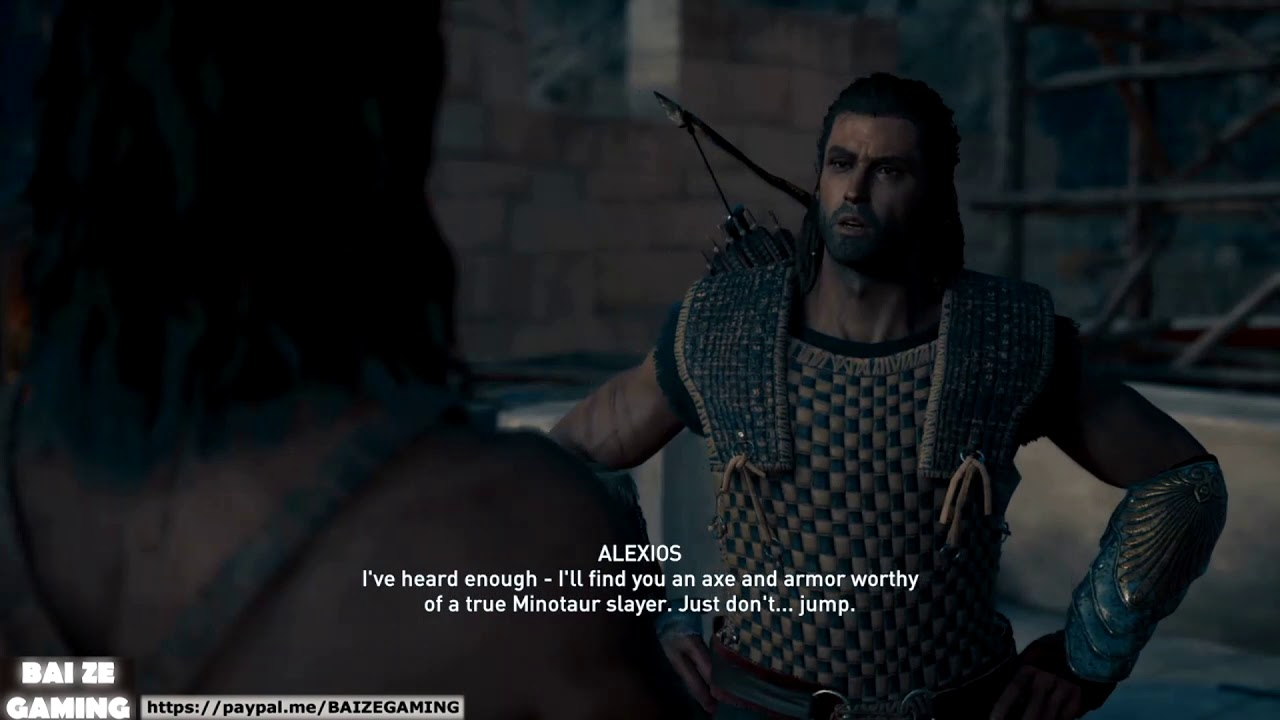 Assassins Creed Odyssey 60 Bravely Ran Away Quest Guide Youtube