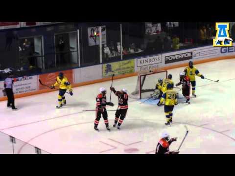 Alaska Hockey vs Bowling Green Highlights 12/8/12