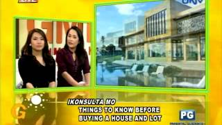 Things to know before buying a house and lot